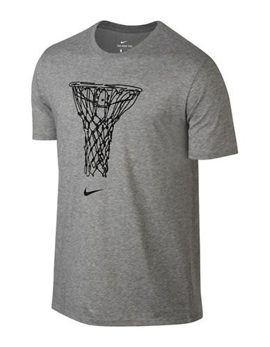 Nike Basketball Draw Tee-GREY-Medium 89160320_GREY_Medium