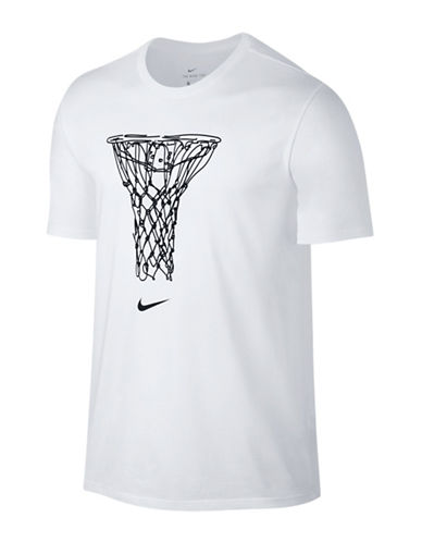Nike Basketball Draw Tee-WHITE-Large 89160326_WHITE_Large
