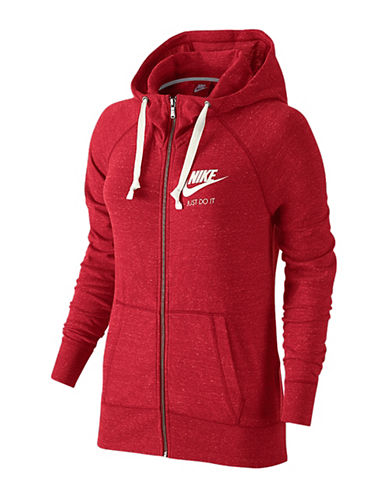 Nike Gym Vintage Hoodie-RED-Medium 88547878_RED_Medium