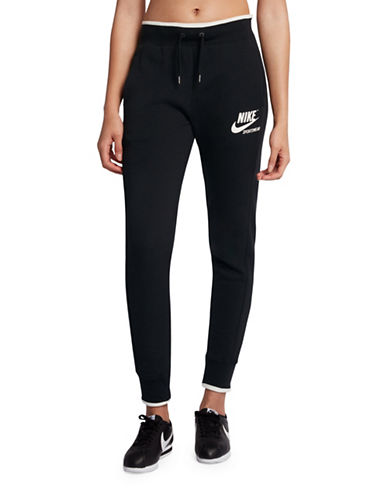 Nike Sportswear Fleece Pants-BLACK-Large