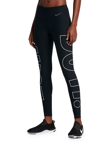 Nike Just Do It Power Leggings-BLACK-Large 89894856_BLACK_Large