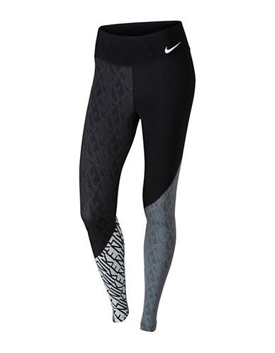 Nike Power Legendary Tights-GREY-X-Large