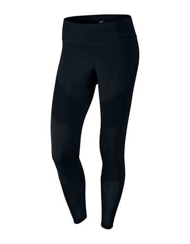 Nike Power Legendary Mid Right Tights-BLACK-Large 88958484_BLACK_Large