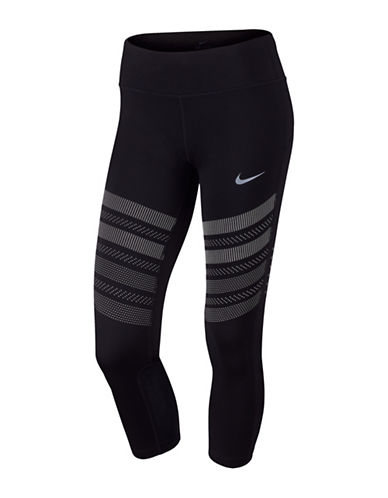 Nike Power Epic Cropped Running Tights-BLACK-X-Large 89203487_BLACK_X-Large