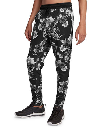 Nike Floral Sportswear Pants-BLACK/WHITE-XX-Large 90030020_BLACK/WHITE_XX-Large