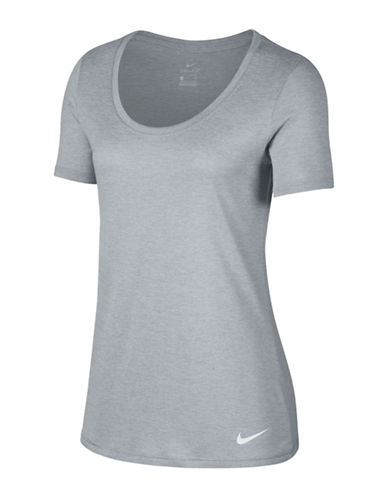 Nike Dry Training T-Shirt-GREY-X-Small