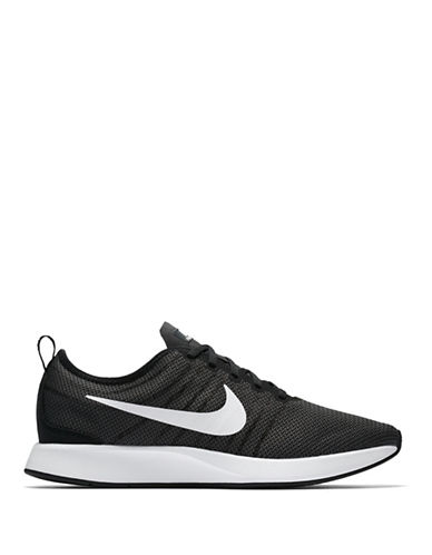Nike Mens Dualtone Racer Sneakers-BLACK-11.5
