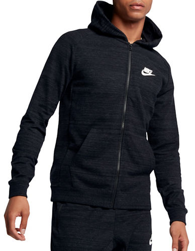 Nike Advance 15 Hoodie-BLACK-Large