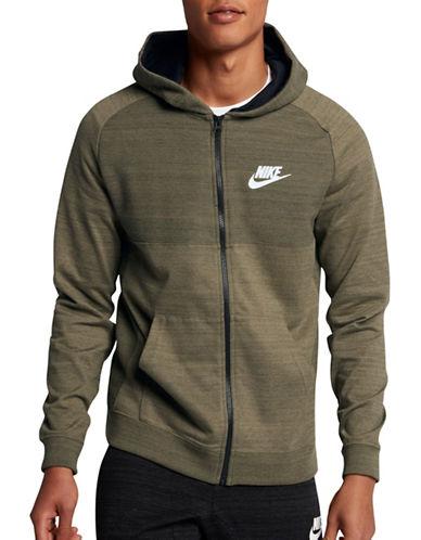 Nike Advance 15 Hoodie-GREEN-Small