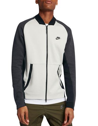 Nike Sportswear Tech Fleece Varsity Jacket-GREY-XX-Large 89576178_GREY_XX-Large