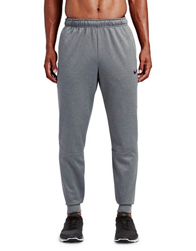 Nike Therma Training Pants-GREY-Small