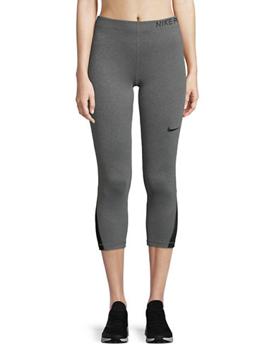 Nike Cropped Leggings-GREY-X-Small 89894960_GREY_X-Small