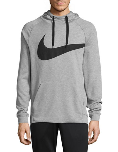 Nike Dry Training Hoodie-GREY-Large 89407605_GREY_Large