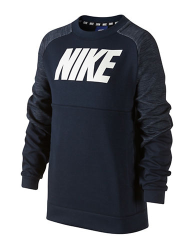Nike Sport Sweatshirt-NAVY-Small