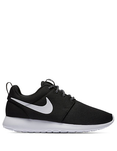 Nike Womens Roshe Sneakers-BLACK-9