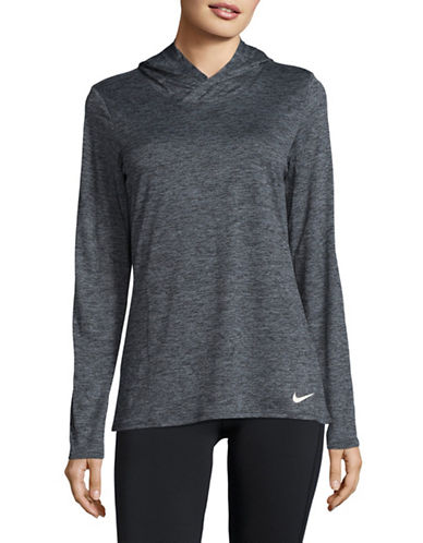 Nike Dry Long Sleeve Hoodie-BLACK-Medium 89529635_BLACK_Medium
