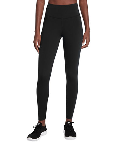 Nike Sculpt Athletic Tights-BLACK-Large