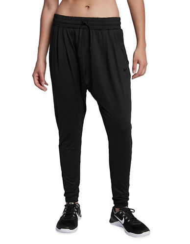 Nike Flow Jogger Pants-BLACK-X-Small