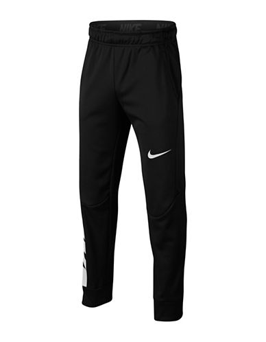 Nike Boys Therma Training Pants-GREY-8-9