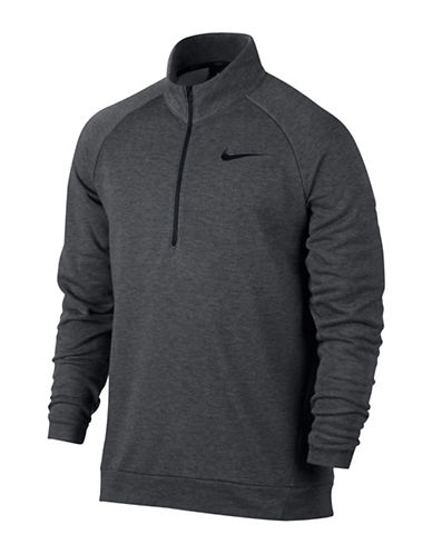 Nike Dri-Fit Training Fleece Sweater-GREY-Medium 89413470_GREY_Medium