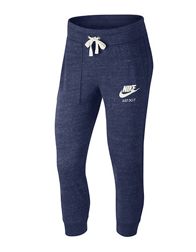Nike Gym Vintage Capri Sweatpants-BLUE-X-Large 89203063_BLUE_X-Large