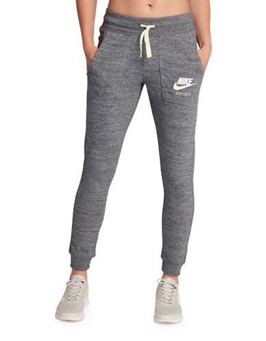 Nike Sportswear Vintage Cuffed Pants-GREY-X-Small