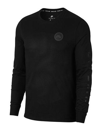 Nike Air Cotton Tee-BLACK-Medium 89710102_BLACK_Medium