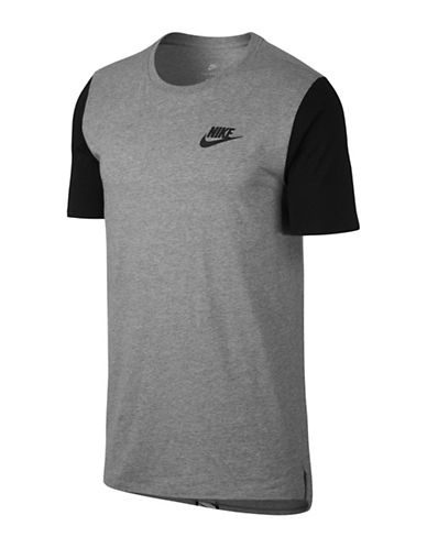 Nike Jersey Cotton Tee-GREY-Large 89690909_GREY_Large