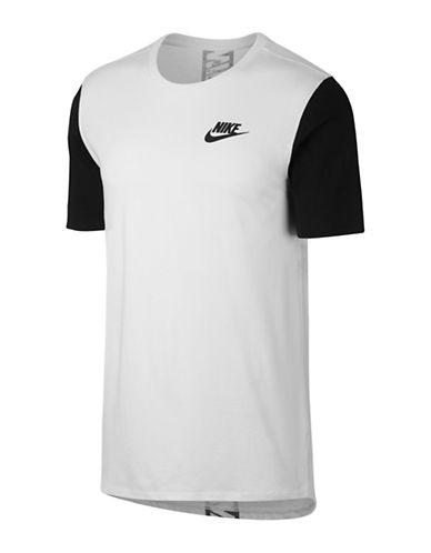 Nike Jersey Cotton Tee-WHITE-Large 89690916_WHITE_Large