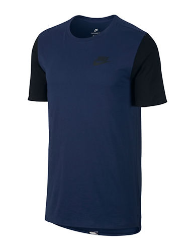 Nike Jersey Cotton Tee-BLUE-X-Large 89690924_BLUE_X-Large