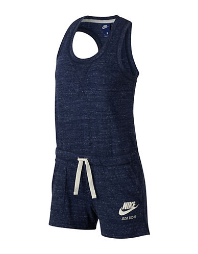 Nike Gym Vintage Romper-BLUE-Medium 89203227_BLUE_Medium