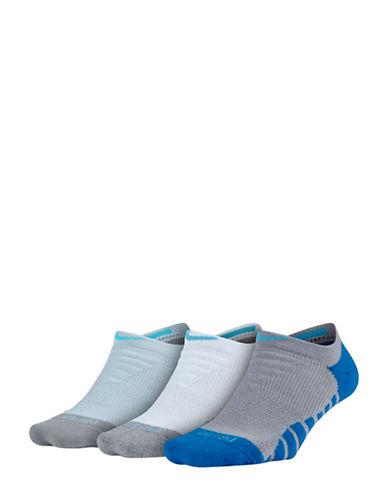 Nike Three-Pack Everyday Max Cushion Cotton No-Show Training Socks-MULTI-Medium