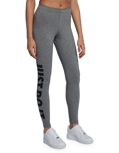Nike Sportswear Leg-A-See Leggings-GREY-Medium 89904148_GREY_Medium