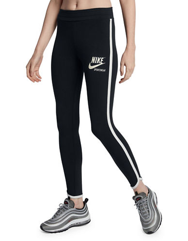 Nike Sportswear Archive Leggings-BLACK-X-Large 89904037_BLACK_X-Large