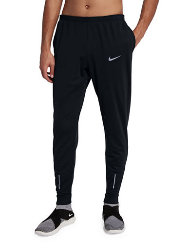Nike Therma Essential Sweatpants-BLACK-Medium