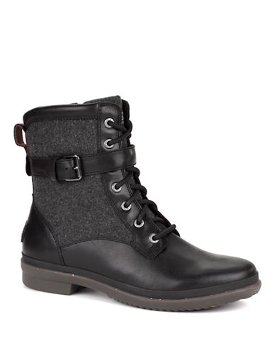 Ugg Kesey Boots-BLACK-8
