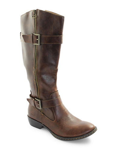 B.O.C. Born Garland Knee-High Boots-BROWN-9.5