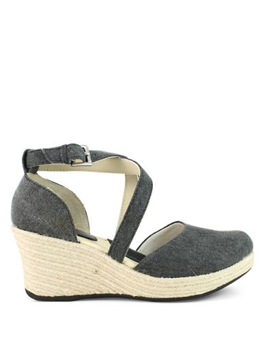 B.O.C. Born Bree Espadrille Wedge Sandals-BLACK-6