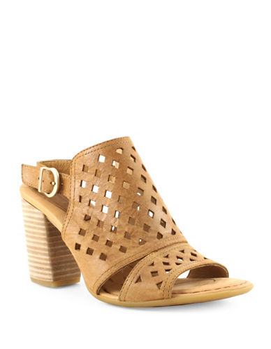 Born Rosa Leather Sandals-BEIGE-7