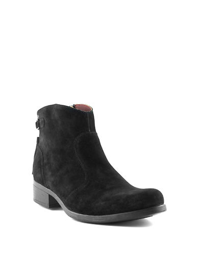 B.O.C. Born Viviane Calf Booties-BLACK-6.5