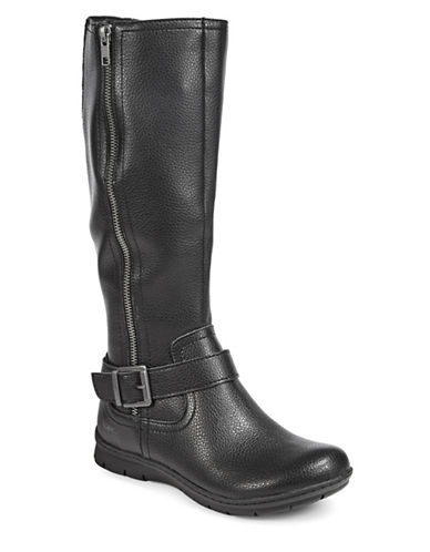 B.O.C. Born Pauline Tall Riding Boots-BLACK-10