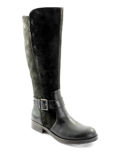 B.O.C. Born Knee-High Riding Boots-BLACK-8.5