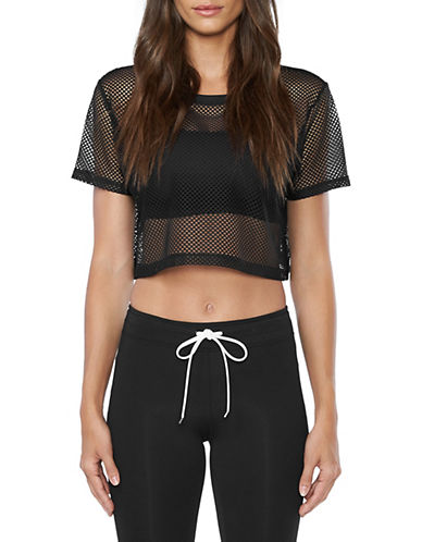 Koral Los Angeles Reggae Cropped Top-BLACK-Medium 89968008_BLACK_Medium