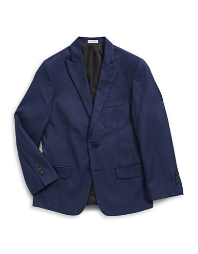 Calvin Klein Modern Fit Suit Jacket-BLUE-14