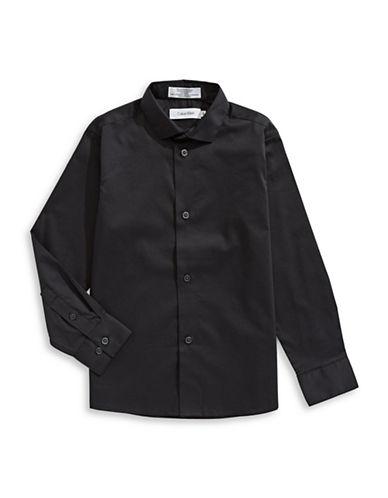 Calvin Klein Classic Sportshirt-BLACK-6