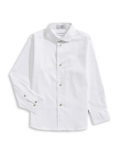 Calvin Klein Classic Sportshirt-WHITE-6