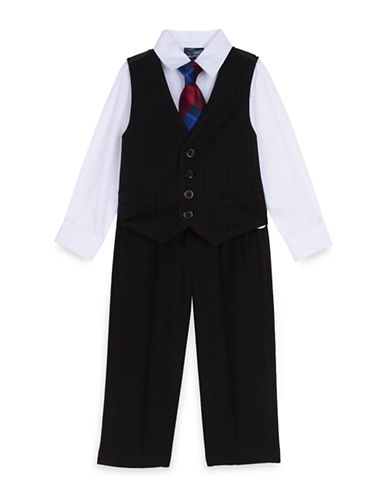 Nautica Four-Piece Suit Set-BLACK-6
