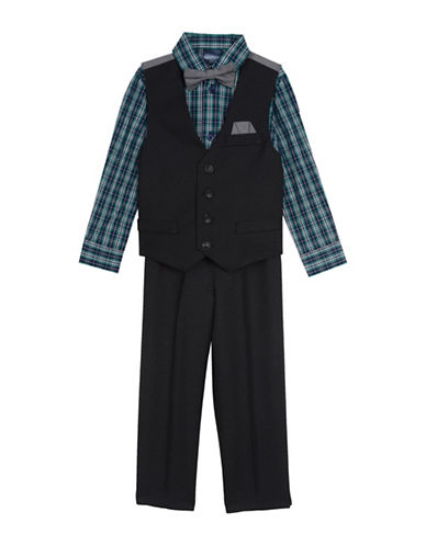 Nautica Four-Piece Suit Set-BLUE-3