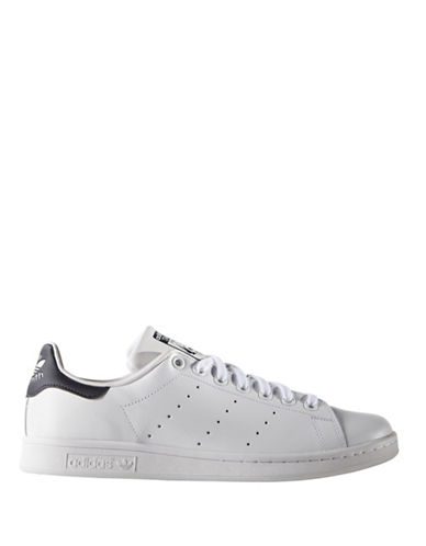 Adidas Originals Stan Smith Leather Sneakers-WHITE-9