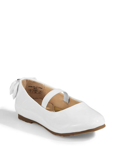 Ivanka Trump Opera Ballet Strap Shoes-WHITE-10